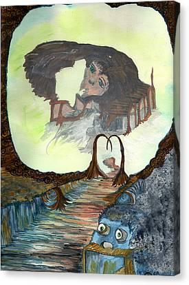 Dreamscape Canvas Print by Angela Pelfrey