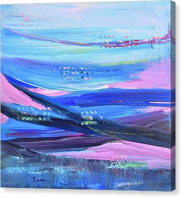 Canvas Print featuring the painting Dreamscape by Irene Hurdle