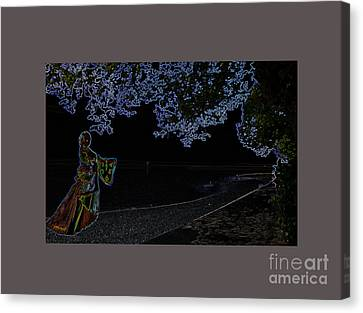 Yes Dream Time,  M9 Canvas Print by Johannes Murat