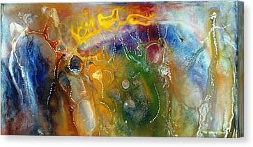 Dreamtime Canvas Print by Lee Pantas