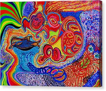 Dreamweaver Canvas Print by Carol Dean