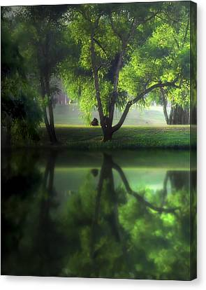 Dreamy Afternoon Canvas Print by Cecil Fuselier