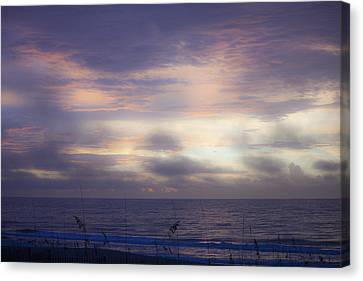 Dreamy Blue Atlantic Sunrise Canvas Print by Teresa Mucha