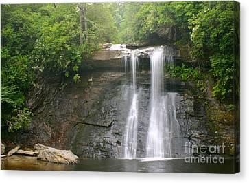 Dreamy Forest Waterfall Canvas Print by Matt Tilghman