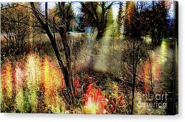 Dreamy Haven 2 Canvas Print by Isaiah Moore