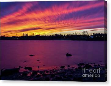 Dreamy Reflection Canvas Print by James Brown