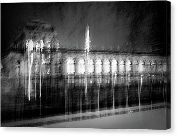 Dresden - Zwinger Canvas Print by Dorit Fuhg