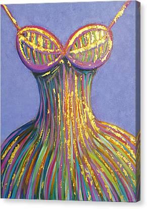 Dress For Cinderella Canvas Print by Beryllium Canvas