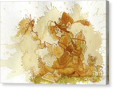 Dress Up Canvas Print by Brian Kesinger