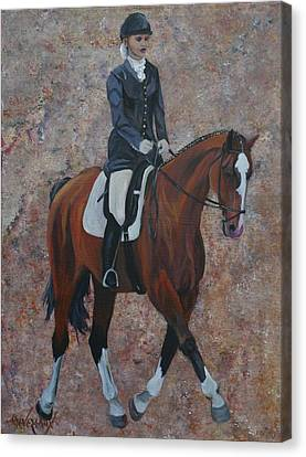 Dressage Canvas Print