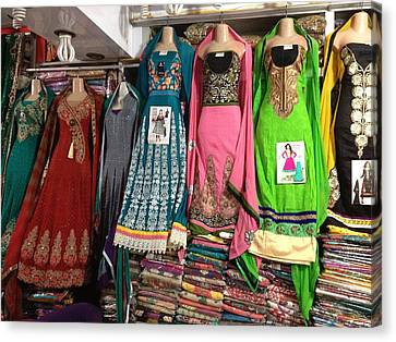 Dresses For Sale Canvas Print