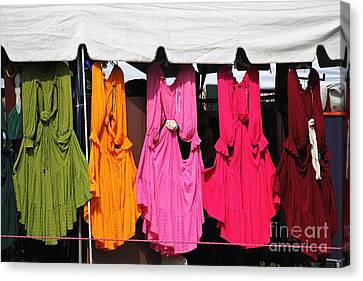 Dresses In The Sunlight Canvas Print