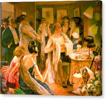 Dressing Room Canvas Print - Dressing Room 1922 by Padre Art