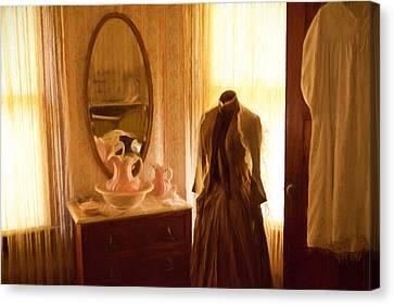 Dressing Room Canvas Print by Jonas Wingfield