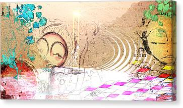 Drift Ashore Canvas Print by Mark M  Mellon