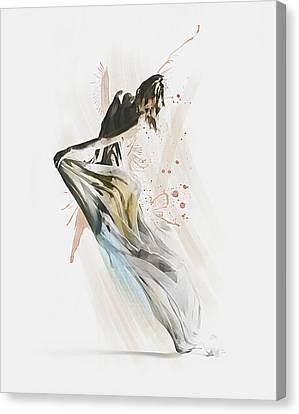 Drift Contemporary Dance Canvas Print