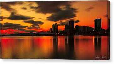 Drift Pass Port Of Spain  Canvas Print by Marcus Gonzales