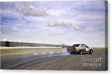 Drifting At Abbeville Canvas Print by Andy Smy