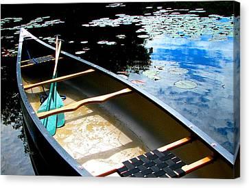 Drifting Into Summer Canvas Print by Angela Davies