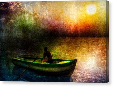 Drifting Into The Light Canvas Print by Bob Orsillo