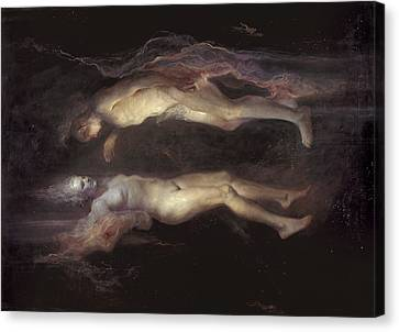 Drifting Canvas Print by Odd Nerdrum
