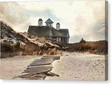 Canvas Print featuring the photograph Driftwood by Robin-Lee Vieira