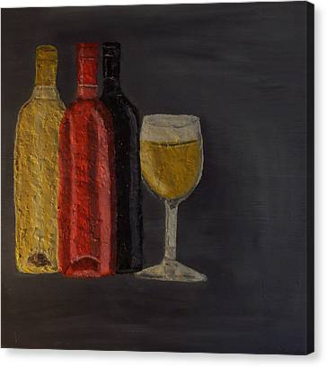 Drink After Midnight Canvas Print