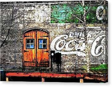 Drink Coca Cola  Canvas Print by Gray  Artus