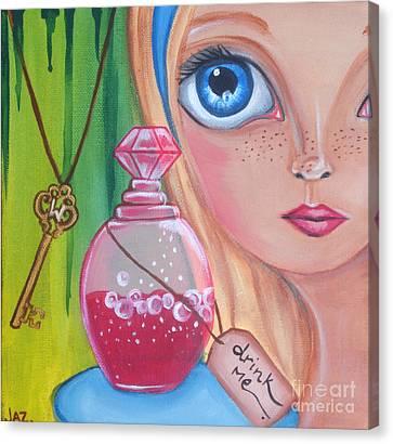 Drink Me Canvas Print by Jaz Higgins