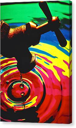 Dripping Faucet Canvas Print
