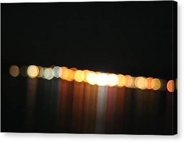 Dripping Light Canvas Print by David S Reynolds