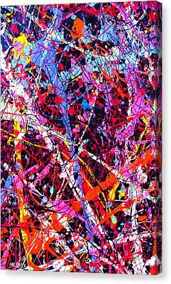 Dripx 11 Canvas Print