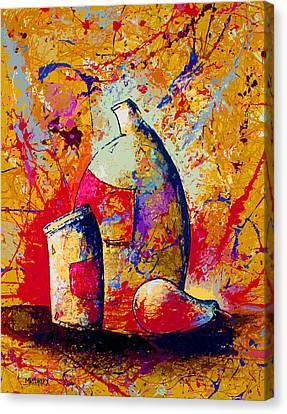 Dripx 87 Canvas Print