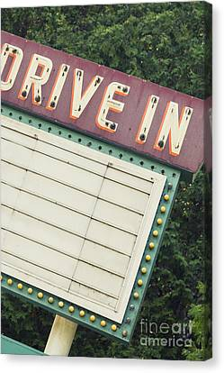 Drive In I Canvas Print