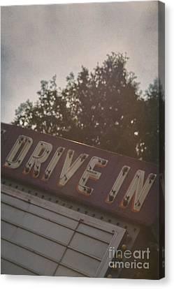Drive In II Canvas Print