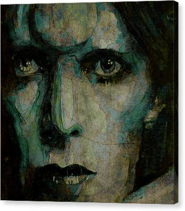 David Canvas Print - Drive In Saturday@ 2 by Paul Lovering