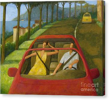 Driven Canvas Print by Glenn Quist