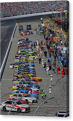 Drivers Start Your Engines Canvas Print by Juergen Roth
