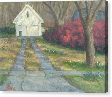 Driveway Canvas Print by Michael Gillespie