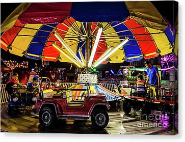 Canvas Print - Driving In Circles by Kathleen K Parker