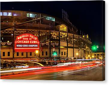 National League Canvas Print - Driving Past History by Andrew Soundarajan