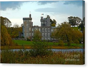 Dromoland Castle Canvas Print by Beth Wolff