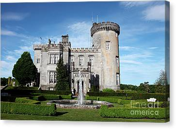 Dromoland Castle Canvas Print by Ros Drinkwater