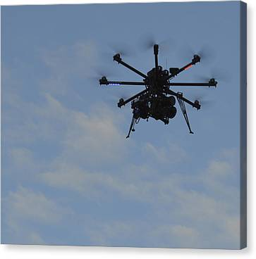 Canvas Print featuring the photograph Drone by Linda Geiger