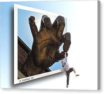 Dropout Canvas Print by Brian Wallace