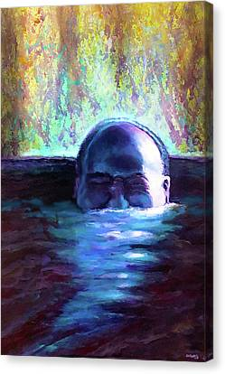 Drowning In A Sea Of Sensory Perception Canvas Print