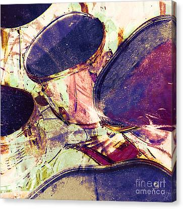 Canvas Print featuring the photograph Drum Roll by LemonArt Photography