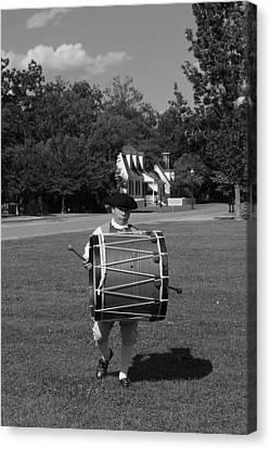 Drummer Boy Canvas Print by Eric Liller