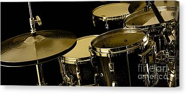 Drums Collection Canvas Print by Marvin Blaine