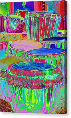Drums Of Change Canvas Print